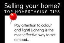 Homestaging tips / This board provides handy tips to help get your home ready.  Remember the first impression of your home is a lasting  impression!