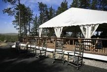 The Terrace Grill / Casual dining al fresco with four-star views of the Hudson River, mountains and golf course.