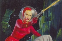 Space Age Pop Art / A collection of science fiction and fantasy art from the 30s and beyond.