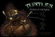 TMNT / Turtle Power / by Judd Hanssens