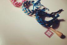 Knitted Bracelets / Knitted Bracelets