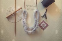 Knitted Neckless