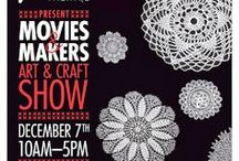 Movies & Makers / Check out my fellow vendors at Movies & Makers at the Fox Theatre - Saturday, December 7 - 11 a.m.-5:00 p.m. 2236 Queen St. East, Toronto, ON. More info at http://movies-and-makers.blogspot.ca / by Lynn's Lids
