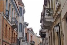 """Walking  in  the """"Neoclassical"""" Athens !!! / What remained of the richness, of Neoclassic architecture ..."""