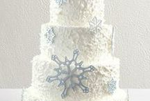 Winter Wedding Cake Inspiration / The rest of your plans are coming together, it's time to start planning your cake! Here's some winter inspired wedding cakes, sure to help bring your creative side out! / by The Garrison - Garrison, NY