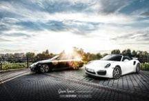 REALIZACJA: 2x TECHART - Porsche 911 Turbo 997 i 911 Turbo S 991 / Dwie generacje Porsche 911, do tego Turbo, a na dodatek Cabrio :)  Wysmakowane dodatki aerodynamiczne TechArt świetnie współgrają z klasycznymi liniami Porsche.  Opis obu projektów znajdziecie na naszym blogu: http://gransport.pl/blog/realizacja-porsche-911-turbo-997-911-turbo-991-dodatkami-techart/  Specjaliści z GranDetailing już niedługo zaprezentują fotorelację z prac detailingowych, która pojawi się również na naszym profilu! :)  foto: Damian Oleksiński Automotive Photography