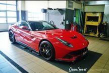 REALIZACJA: FERRARI F12 BERLINETTA NOVITEC. / To już fakt! GranSport został oficjalnym dealerem NOVITEC ROSSO, lidera tuningu aut z Maranello. Jak zawsze stawiając sobie poprzeczkę niezwykle wysoko – pierwszy w Polsce, kompletny pakiet modyfikacji zamontowaliśmy w modelu Ferrari F12berlinetta.   Zapraszamy do całej fotorelacji na naszym blogu: http://gransport.pl/blog/realizacja-ferrari-f12-berlinetta-novitec-rosso/