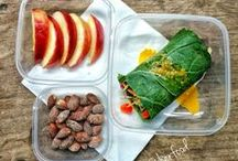 Lunch Box Ideas / Busy mornings?  Always on the go?  Tired of eating greens from the deli salad bar who's cleanliness you're dubious about, and stale pre-made sandwiches?  Looking to save some lunch money?  This board is your source for quick-fix, delicious, easy-carry, satisfying, energy boosting, nutritious lunch ideas that fuel you for whatever your afternoon brings.