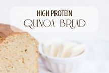 High-Protein Recipes / Looking for high-protein foods to power you through the day? before a workout? post-workout recovery? bulk up? slim down?   Check out this board - it's loaded with recipes for breakfast, lunch, dinner, snacks, quick shakes, and other protein packed nom noms! Get your healthy on!