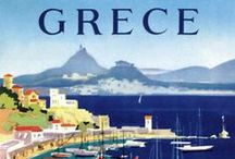 Journey rare posters  ///  Σπάνιες ταξιδιωτικές αφίσες. / Countries and Air Companies advertisments...
