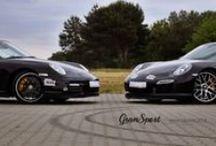 REALIZACJA: PORSCHE 911 TURBO S (997) I (991) Z ZAWIESZENIEM TECHART / Ideały, których nie idzie poprawić nie istnieją. I choć już w seryjnym wydaniu słyną z niesamowitego prowadzenia, nawet w Porsche 911 Turbo S znaleźć można niewykorzystane pokłady trakcji. Najlepszym na to przykładem są dwa prezentowane egzemplarze: najnowszej generacji (991) oraz odrobinę starszej – (997).  Przeczytajcie więcej na blogu: http://gransport.pl/blog/realizacja-porsche-911-turbo-997-991-zawieszeniem-techart/