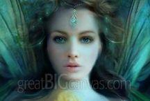 Devian Art/Elfes/Fairies/Mermaids