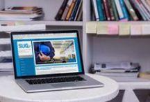 Webdesign / Ein Schwerpunkt meiner Arbeit dreht sich um das Thema Webdesign. Deshalb ist mein Interesse natürlich groß was Neuigkeiten und Trends zum Thema betrifft.