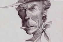 Caricatures / celebrities, famous, cartoons caricatures