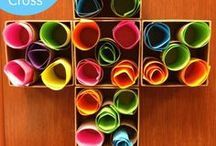 Kids activities/Sunday school ideas / - Kids Camp games or crafts - Youth Group - Sunday school