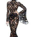 FASHION DRAW & ART / Rajzok, illusztrációk, tervezesek es divat