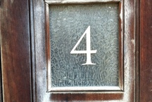 The number 4  / I'm working on a new project and collecing interesting number fours.