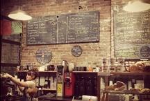 shops, coffe