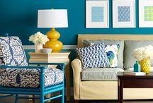 Decorated blue