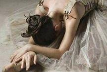 ballet dancers / vintage