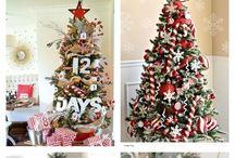 Christmas tree / Christmas tree decoration. Рождественские елки и их декор #christmastree #decoration