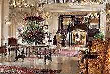 Luxury Hotel Design Interior / Design interior of luxury hotels in the world. Дизайн интерьеров в отелях класса люкс по всему миру.