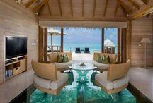 Les hôtels / Design of hotel interior in the world. Дизайн интерьеров в отелях по всему миру