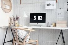Office Decor Ideas / Office inspiration for when I have enough space for an office.