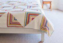 Blankets / Interesting granny square patterns