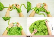 Knitting...and...Arm...and...Finger... Knitting