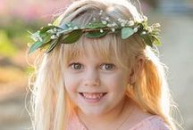 Flower Girl Inspiration / beautiful gifts and traditions to celebrate your wedding with your special flower girls