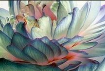 Inspirational Art Images / Images showing different colours, textures, and ideas that are inspiring in my art.