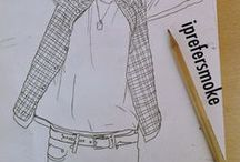 xoxo / My drawings