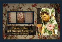 """Donne e Fiori nel Mezzaro Genovese / """"la raccolta Bignami"""""""