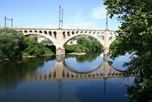 Bridges in Montgomery County / Photos courtesy of the Montgomery County Planning Commission. https://www.facebook.com/pages/Montgomery-County-Planning-Commission/181442168555334 / by Montgomery County