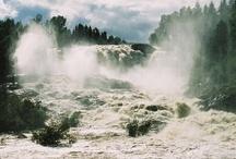 Haugfoss Waterfall