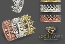 Jewelry - Jewellery - Rings - Wedding Rings - Engagement Rings / Jewellery trends to keep you in the loop. Rings, Wedding Ideas, Engagement Rings, Design.