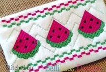 Faux Smocking Embroidery Designs / Faux Smocking embroidery designs are a great way to add a smocked look to your project without spending the time hand smocking.  Check out Belliboos Designs for a wide variety of quality faux smocking embroidery designs.