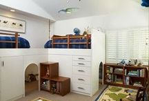 Kids Corner / Mostly kids rooms, be they bedrooms, playrooms or nooks with some other cool kid related projects and decorating