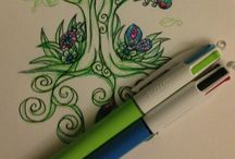 Zentangle, doodles, paisley ym ym..