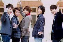 ARASHI / japanese pop idol group