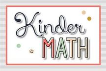 Kindergarten Math {Kinder Tribe}