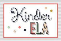 Kindergarten ELA {Kinder Tribe}