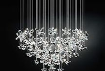 JD ♥s Stars of Light / To conjure charm and style, dress up your home with one of these stunning, shiny Crystal Lights.