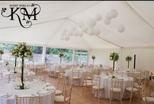 Wedding Marquee Style at Fulham Palace / Fulham Palace has a marquee within our red brick walled garden beside the Thames. Here are a few ideas of ways that you can style the marquee for your #wedding