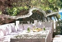 Outdoor Gardens / Gorgeous exteriors that take your breath away.  Gardens, pools, exteriors, and curb appeal. / by Tauna Harris Design
