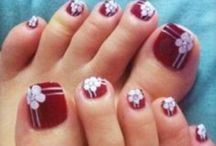 Pedi-Cures / Nail inspirations to sooth the soul & light the toes! / by Sati (Lisa) Chappelle
