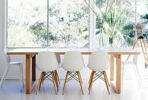 DINE / interior design // inspiring dining areas + kitchen nooks