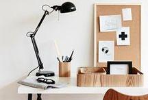 Home Office / Inspirationen für Ordnung auf dem Schreibtisch und ein kreatives Home Office