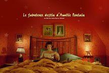 """Le Cinéma de JP. Jeunet / Hommage au cinéma si magique et esthétique de Jean-Pierre Jeunet, à travers son film emblématique """"Le Fabuleux destin d'Amélie Poulain"""", mais aussi """"La Cité des enfants Perdus"""", """"Un long dimanche de fiançailles"""", """"Micmacs à tire-larigot"""" ou encore """"L'extravagant voyage du jeune et prodigieux T.S. Spivet"""".., / by Pauline MAZIN"""